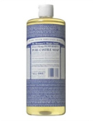 Dr. Bronner's Magic Soaps Pure-Castile Soap, 18-in-1 Hemp Peppermint, 950ml Bottles