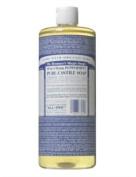 Dr. Bronner's Magic Soaps Pure-Castile Soap, 18-in-1 Hemp Peppermint, 950ml Bottles