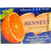 Bennet Soap Vitamin E 130g C & e Made in Thailand