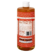 Dr. Bronner's Magic Soaps Pure-Castile Soap, 18-in-1 Hemp Tea Tree, 950ml Bottles