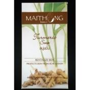 Maithong Turmeric Herbal Soap Bar Reduce Acne 100g 4x Psc