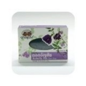 Butterfly Pea Clear Soap Cleans the Skin Perfectly 100 G. 6x Psc