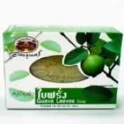 Guava Leaves Soap Abhaibhubejhr 100 G. 6x Psc