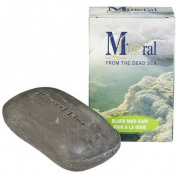 Mineral Line - Dead Sea, Black MUD Soap, Eczema, Psoriasis, 120 Ml / 4.2 Oz