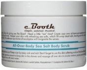 C. Booth Sea Salt Body Scrub, All-Over-Body 240ml