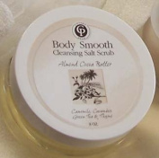 Almond Body Smooth 240ml Jar Salt Scrub