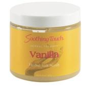 Soothing Touch Vanilla Herbal Salt Scrub 590ml