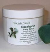 Eucalyptus Body Scrub from Fleurs de France [12 oz]