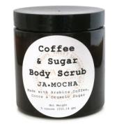 Coffee and Organic Sugar Body Scrub, JAMOCHA