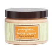Aromafloria Sensoryfusion Honey Papaya 340g/350ml Sugar Melt Scrub