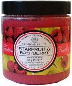 Asquith & Somerset Tropical Fruits Starfruit & Raspberry Exfoliating Sugar Scrub 570ml