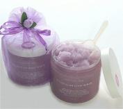 Essential Oil of Lavender & Foaming Shea Butter Sugar Scrub/ 16 Oz/500 ml
