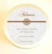 Adonia Waterlily & Lotus Salt Scrub Soufflé - 240ml