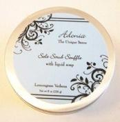 Adonia Lemongrass Verbena Salt Body Scrub Soufflé - 240ml