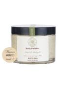 Forest Essentials Body Polisher Basil & Marigold Sand Scrub - 250gm