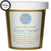 ME! Bath Shower Sherbet Exfoliating Sugar Scrub - Land of Milk n Honey -- 470ml
