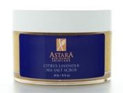 Astara Citrus Lavender Sea Salt Scrub 240ml