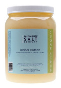 Island Cotton White Sugar Body Scrub