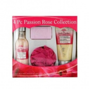 Passion Rose 4-Piece Body Collection