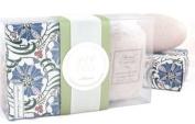 Mudlark Notting Hill Soap & Mineral Soak, Acetate Box With Band & Ribbon