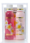 PLUMERIA TRAVEL ESSENTIALS PACK - HAWAIIAN GIFTS