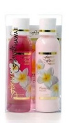PLUMERIA TRAVEL ESSENTIALS GIFT BOX SET - HAWAII GIFTS