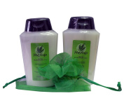 Perlier Hemp with Rosemary Oil Body Cream Bath Cream Set