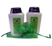 Perlier Hemp with Rosemary Oil Body Cream Bath Cream Set