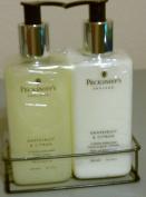 Pecksniff's Grapefruit & Citron Handwash and Body Lotion Set, 300ml Each