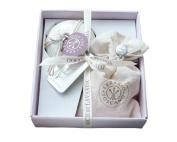 Erbario Toscano Gocce di Lavanda Linen Perfumer & Soap Gift Set