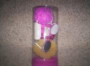 Scentsations Gift Bath Set/Bath Salts/Bath Brush/Sponge/Foot Wand