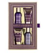 Baylis & Harding French Lavender & Cassis Four Piece Gift Set