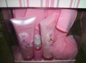 Scentsations Cherry Blossom Bath Set/Cherry Blossom Gel/Cherry Blossom Lotion
