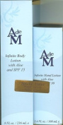 Special Value! AdeM Infinitie Body Lotion with Aloe and SPF 15 240ml and Infinitie Hand Lotion With Aloe and SPF 30 100ml