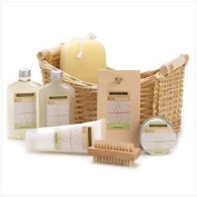 Lemongrass Eucalyptus Bath Body Lotion Scrub Spa Set