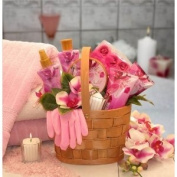 GiftBasketsAssociates Spa Gifts for Her Pampered in Pink Bath & Body Basket