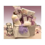 Bath & Body Spa Gift Caddy for Her GiftBasketsAssociates Gift for Her