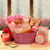 Once Upon A Rose Spa Gift Set for Her GiftBasketsAssociates Spa Gifts for Her