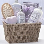 Fields of Lavender Spa Basket by GB