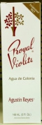 Royal Violets By Agustin Reyes 150ml Agua De Colonia Eau De Cologne Glass Bottle