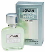 Jovan GINSENG N-R-G Mens Cologne Spray 30ml