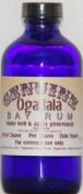 4 oz Genuine Ogallala Bay Rum Regular. Old-time looking bottle and label.
