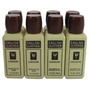 English Leather Cologne by Dana for Men. Cologne Pack Of 8 X 30ml