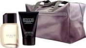REALM By Erox For Men CLASSIC TRIO FOR HIM - COLOGNE SPRAY 50ml & AFTER SHAVE BALM 100ml & grey TRAVEL BAG