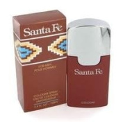 SANTA FE 1.7 OZ EAU DE COLOGNE SPLASH 50 ML RARE