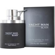 Myrurgia Yacht Man Black Eau De Toilette Spray For Men, 100ml