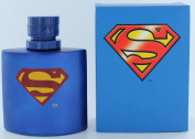 Superman by Marmol & Son, 100ml Eau De Toilette Spray for Men Blue