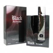 Geparlys Invincible Eau De Toilette Spray for Men, Black, 90ml