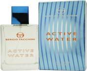 Active Water By Sergio Tacchini For Men, Eau De Toilette Spray, 100ml Bottle