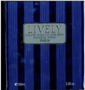 Lively 100ml Eau De Toilette Spray Men